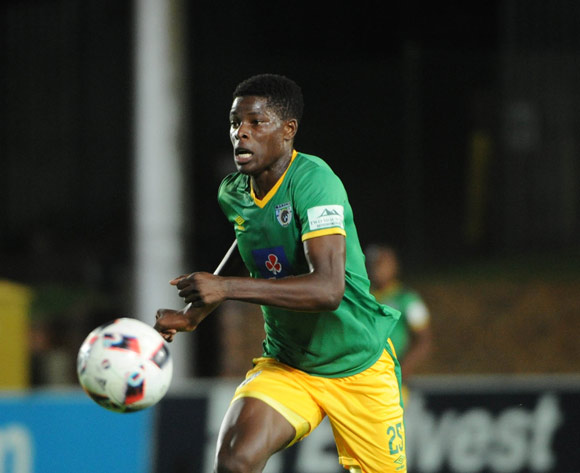 Marshall Munetsi of Baroka FC  during the Absa Premiership match between Bidvest Wits and Baroka FC on the 22 February 2017 at Bidvest Wits Stadium © Sydney Mahlangu/BackpagePix
