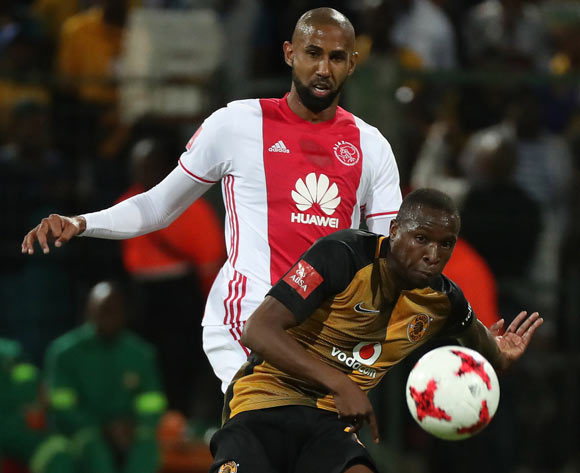 George Maluleka of Kaizer Chiefs evades challenge from Nathan Paulse of Ajax Cape Town during the Absa Premiership 2016/17 football match between Ajax Cape Town and Kaizer Chiefs at Athlone Stadium, Cape Town on 25 February 2017 ©Chris Ricco/BackpagePix