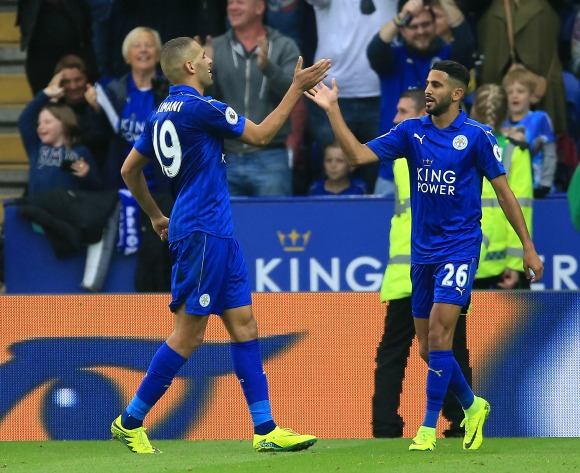 Mahrez's Leicester face tough test in Champions League tonight