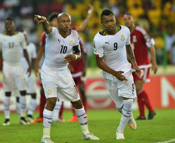 Jordan Ayew: No rivalry between me and brother Andre