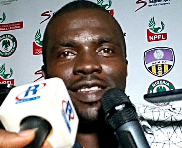 Odey, Olatunbosun best strikers in Nigeria - MFM coach