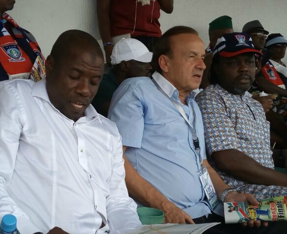 Rohr spies on Remo Stars vs Niger Tornadoes for new Eagles stars
