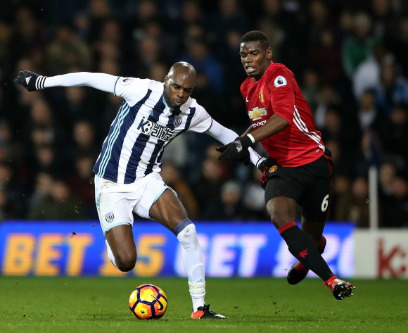 Nyom: I'm developing all the time at West Bromwich Albion