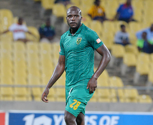 Musa Bilankulu of Golden Arrows during the Absa Premiership 2016/17 match between Platinum Stars and Golden Arrows at Royal Bafokeng Stadium, South Africa on 07 March 2017 ©Samuel Shivambu/BackpagePix