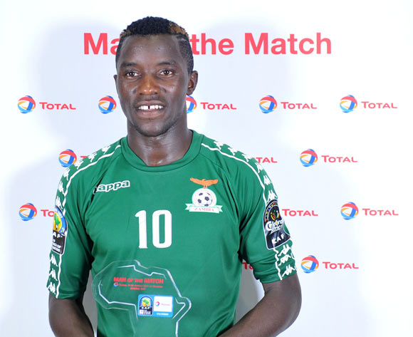Man of the match Fashion Sakala of Zambia during the 2017 Total Zambia U-20 African Cup of Nations match between Mali and Zambia at Heroes National Stadium, Lusaka Zambia on 01 March 2017 ©Muzi Ntombela/BackpagePix