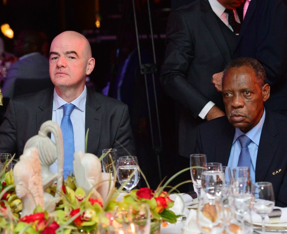 Infantino refuses to speak after CAF elections