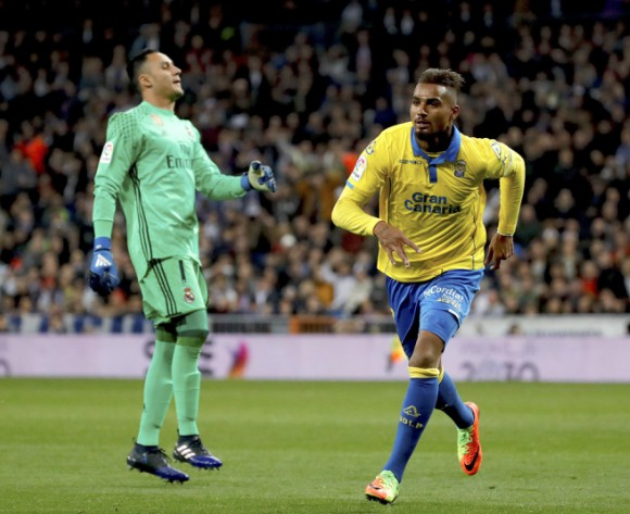 KP Boateng's goal earns Las Palmas a 3-3 draw with Real Madrid