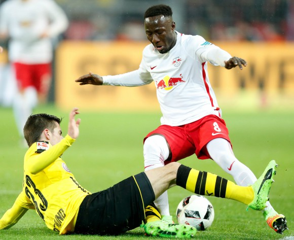 Naby Keita backs new Leipzig teammate Dayot Upamecano