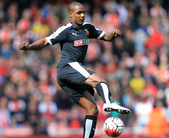Nigerian Ighalo handed armband in Chinese Super League