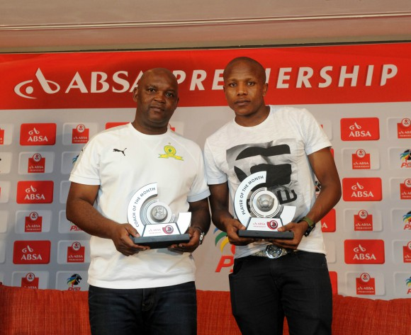 Mosimane and Manyama bag February PSL Awards