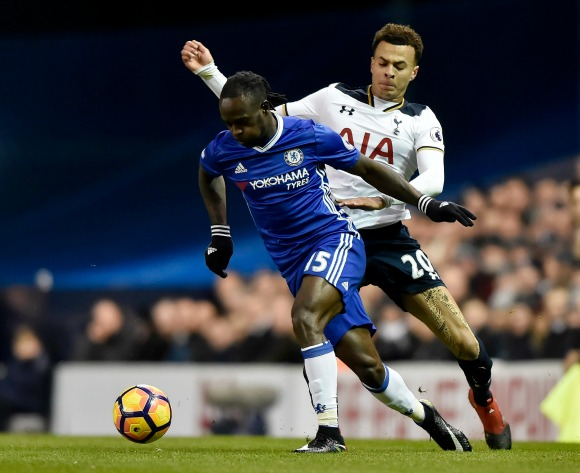 Nigeria's Moses could feature in Stoke v Chelsea