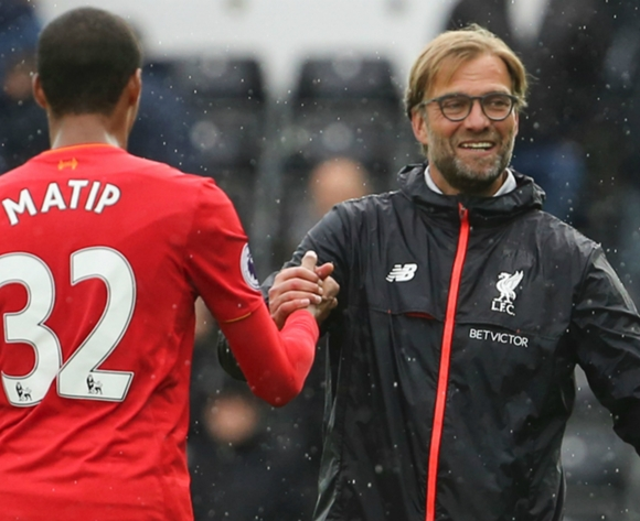 Liverpool star Matip had a back problem, says Klopp