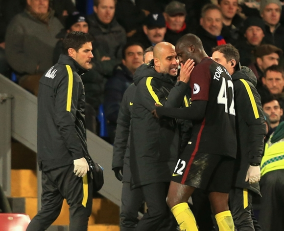 Guardiola: We were better when Toure came on against Arsenal