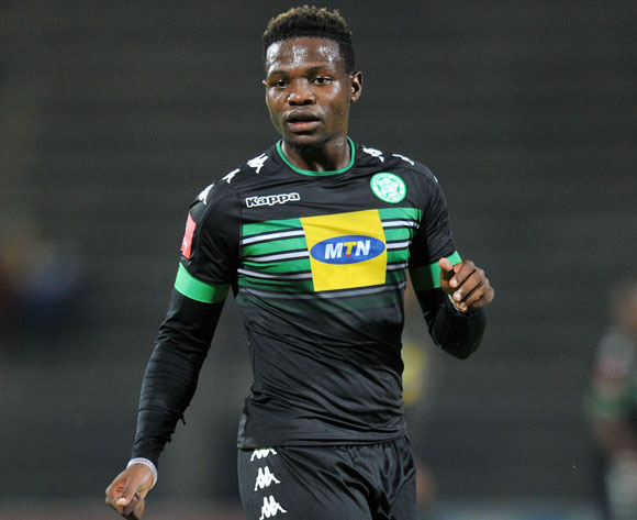 Tshegofatso Mabaso of Bloemfontein Celtic during the Absa Premiership 2016/17 match between Mamelodi Sundowns and Bloemfontein Celtic at Lucas Moripe Stadium, Atteridgeville South Africa on 05 April 2017 ©Muzi Ntombela/BackpagePix