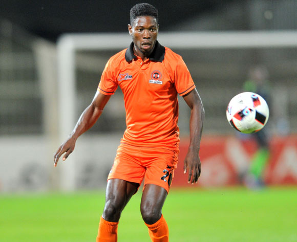 Salulani Phiri of Polokwane City during the Absa Premiership 2016/17 match between Polokwane City and Platinum Stars at the Old Peter Stadium, South Africa on 19 April 2017 ©Samuel Shivambu/BackpagePix