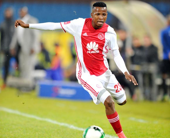 Thabo Mosadi of Ajax Cape Town during the Absa Premiership 2016/17 match between Mamelodi Sundowns and Ajax Cape Town at Loftus Versfeld Stadium in Pretoria, South Africa on 25 April 2017 ©Muzi Ntombela/BackpagePix