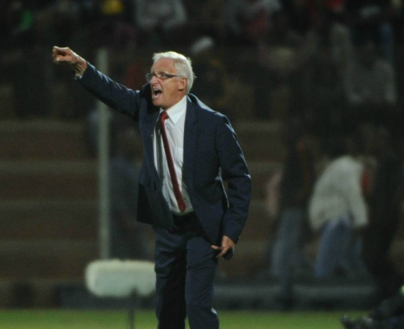 Gordon Igesund fears relegation in South African top flight