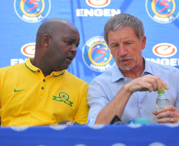 Mosimane supports Baxter as Bafana Bafana coach
