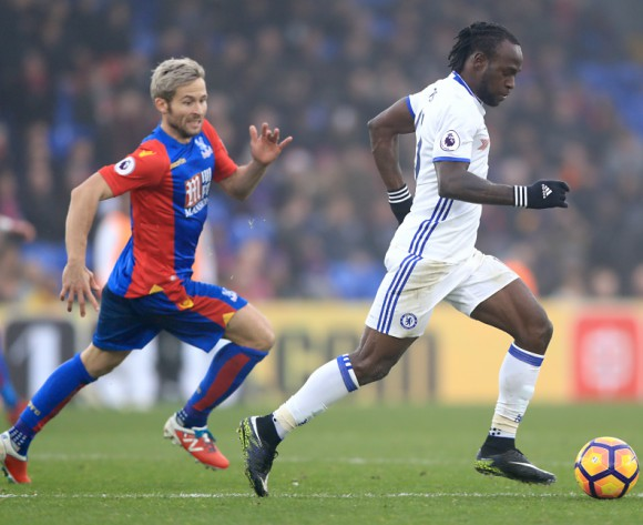 Victor Moses remains doubtful for Chelsea v Man City