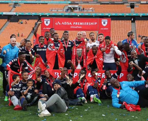 Wits are crowned the 2016/2017 Absa Premiership Champions  during the Absa Premiership 2016/17 match between Kaizer Chiefs and Bidvest Wits at the FNB Stadium, Johannesburg South Africa on 27 May 2017 ©Muzi Ntombela/BackpagePix