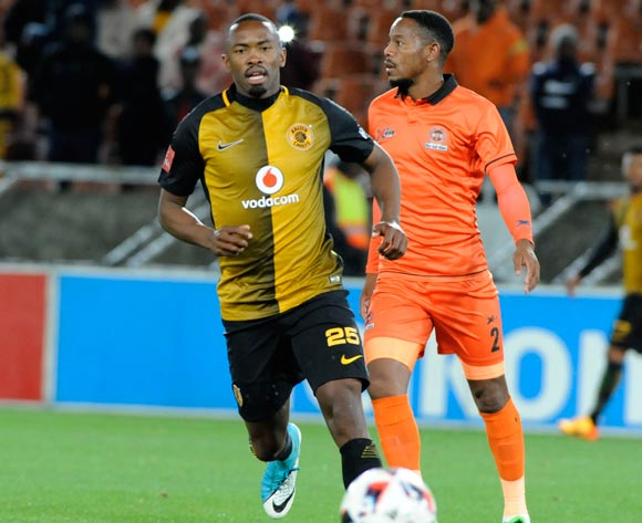 Bernard Parker of Kaizer Chiefs and Thabiso Semenya of Polokwane City during the Absa Premiership 2016/17 game between Polokwane City and Kaizer Chiefs at Peter Mokaba Stadium in Polokwane on 13 May 2017 ©/BackpagePix