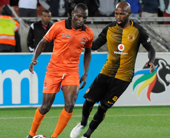 Rodney Ramagalela of Polokwane City and Ramahlwe Mphahlele of Kaizer Chiefs during the Absa Premiership 2016/17 game between Polokwane City and Kaizer Chiefs at Peter Mokaba Stadium in Polokwane on 13 May 2017 ©/BackpagePix
