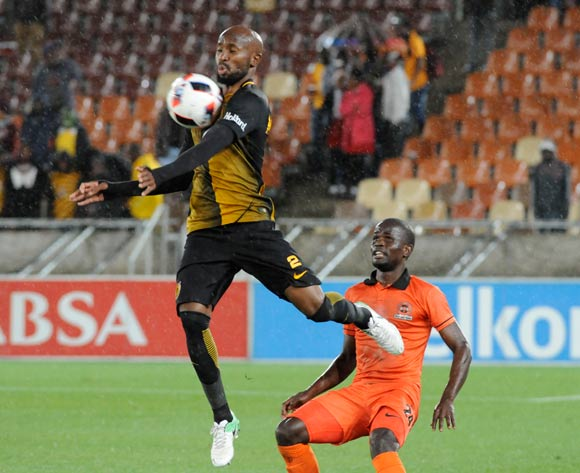 Ramahlwe Mphahlele of Kaizer Chiefs and Simphiwe Hlongwan of Polokwane City during the Absa Premiership 2016/17 game between Polokwane City and Kaizer Chiefs at Peter Mokaba Stadium in Polokwane on 13 May 2017 ©/BackpagePix