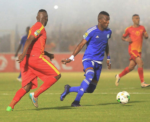 Abednego Tetteh of Hilal during the 2017 CAF Champions League football match between match between Hilal and Merreikh in Omdurman on 13 May 2017 ©Tayeb Afarah/BackpagePix