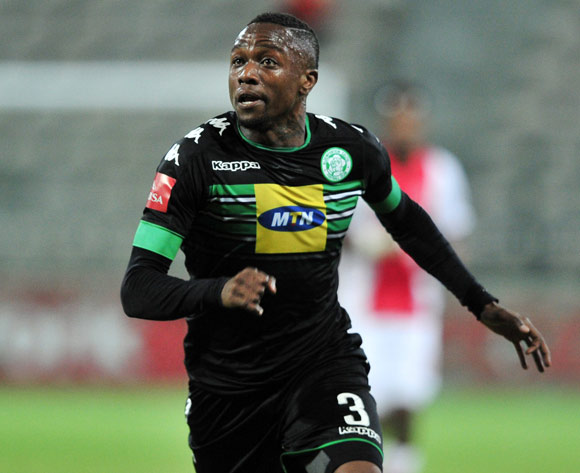Mthokozisi Dube of Bloemfontein Celtic during the Absa Premiership 2016/17 game between Ajax Cape Town and Bloemfontein Celtic at Athlone Stadium in Cape Town on 13 May 2017 © Ryan Wilkisky/BackpagePix