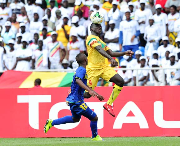 Seme Camara of Mali challenged by Kibwana Ally Shomari of Tanzania during the 2017 Under 17 Africa Cup of Nations Finals football match between Mali and Tanzania at the Libreville Stadium in Gabon on 15 May 2017 ©Samuel Shivambu/BackpagePix