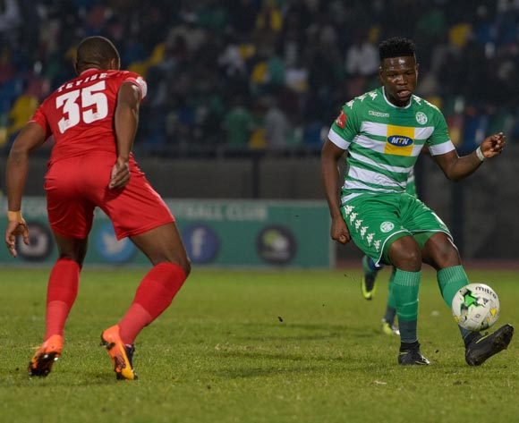 Tshegofatso Mabaso of Bloemfontein Celtic during the Absa Premiership match between Bloemfontein Celtic and Free State Stars on 17 May 2017 at Dr Molemela Stadium, Bloemfontein ©Frikkie Kapp /BackpagePix