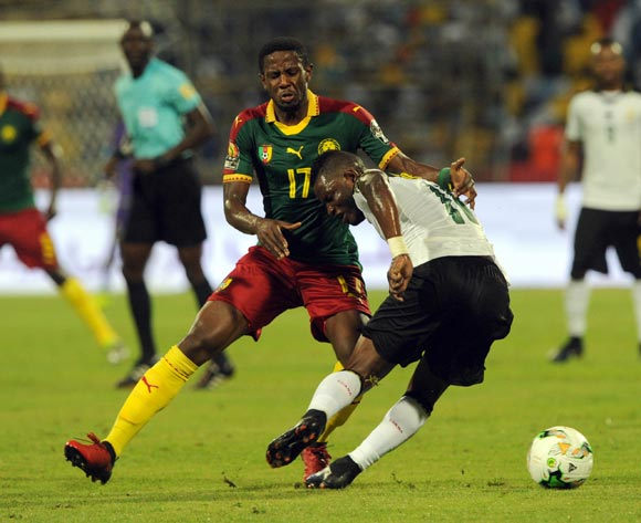 Cameroon midfielder Arnaud Djoum says they will play for Marc Vivien-Foe
