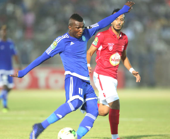 Abednego Kofi Tetteh of El Hilal during the 2017 CAF Champions League football match between match between El Hilal and Etoile Sahel in Sudan on 21 June 2017 ©BackpagePix