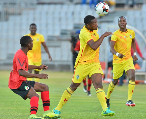 Jimmy Tigere of Zimbabwe during the Cosafa Castle Cup match between Mozambique and Zimbabwe at the Moruleng Stadium in Rustenburg on 26 June 2017 ©Samuel Shivambu/BackpagePix