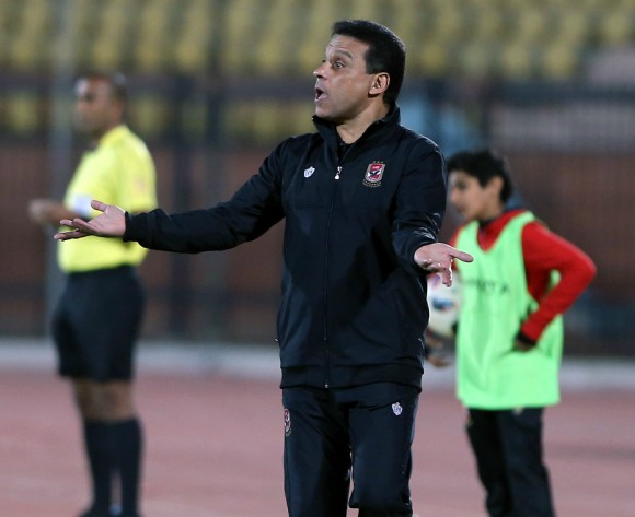 Al Ahly coach Hossam El-Badry lashes out at referee and his side's defensive errors