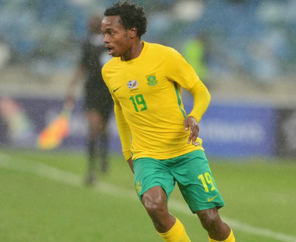 Percy Tau says South Africa deserves respect