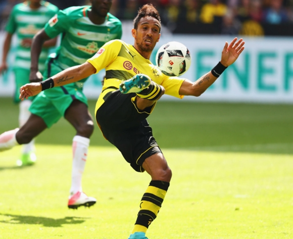 We've had no contact over Aubameyang - Dortmund chief
