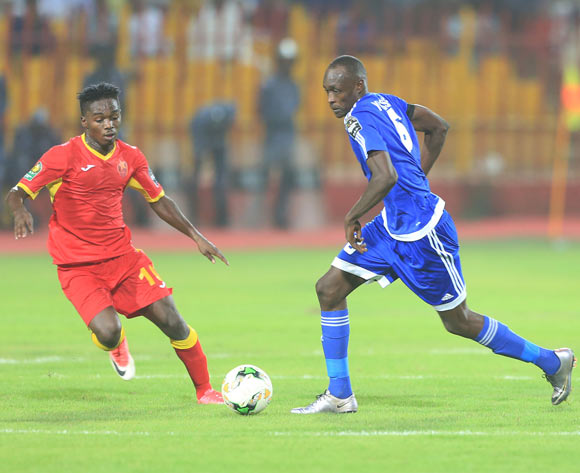 Yousif Ali Mohamed Ibrahim of Hilal during the 2017 CAF Champions League football match between El Merreikh and El Hilal in Sudan on 30 June 2017 ©BackpagePix