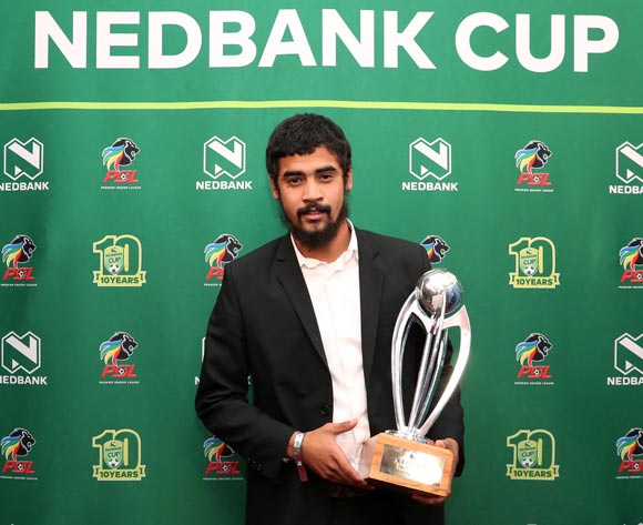 Nedbank Cup Player of the Tournament, Abbubaker Mobara of Orlando Pirates during the 2016/17 PSL Awards at the Sandton Convention Centre, Johannesburg South Africa on 10 July 2017 ©Muzi Ntombela/BackpagePix