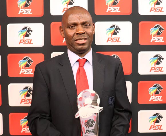 Referee of the Season, Phelelani Ndaba during the 2016/17 PSL Awards at the Sandton Convention Centre, Johannesburg South Africa on 10 July 2017 ©Muzi Ntombela/BackpagePix
