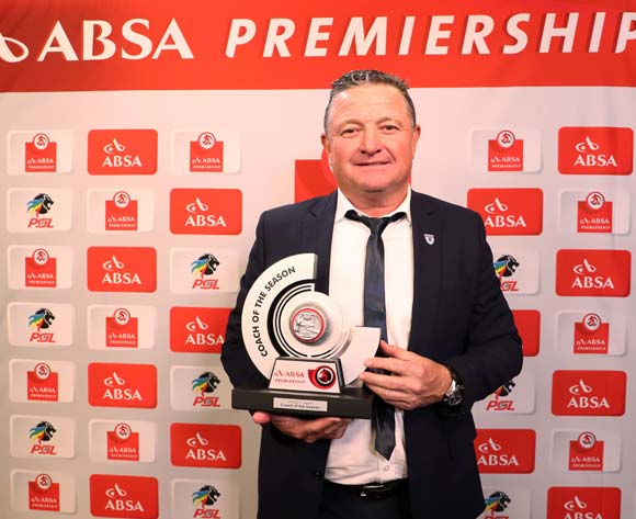Absa Premiership Coach of the Season, Gavin Hunt, coach of Bidvest Wits during the 2016/17 PSL Awards at the Sandton Convention Centre, Johannesburg South Africa on 10 July 2017 ©Muzi Ntombela/BackpagePix
