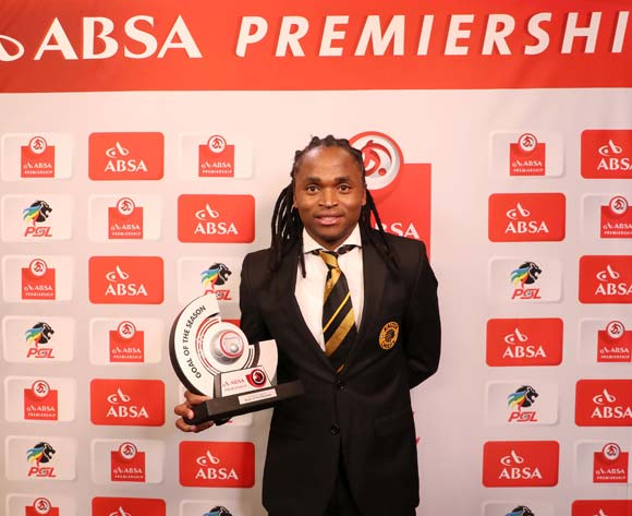 Absa-lutely Awesome Goal of the Season, Siphiwe Tshabalala of Kaizer Chiefs during the 2016/17 PSL Awards at the Sandton Convention Centre, Johannesburg South Africa on 10 July 2017 ©Muzi Ntombela/BackpagePix