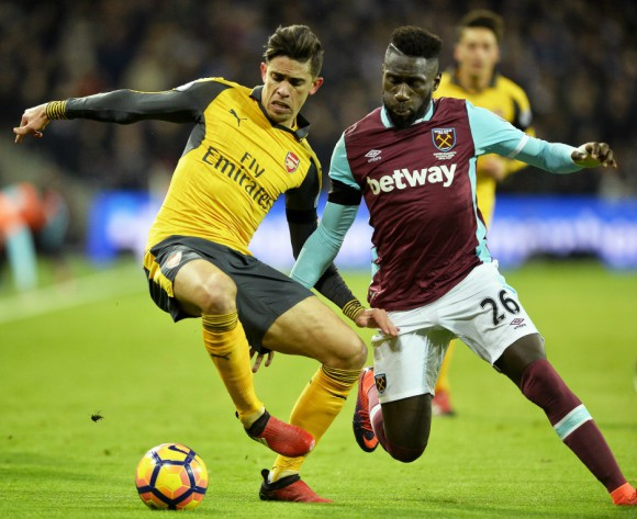 Masuaku: I always give my best for West Ham