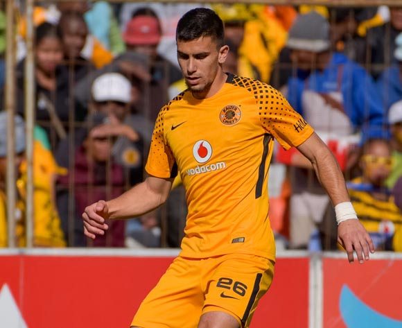 Lorenzo Gordinho of Kaizer Chiefs during the Absa Premiership 2017/18 game between Bloemfontein Celtic and Kaizer Chiefs at Free State Stadium on 20 August 2017 © Frikkie Kapp/BackpagePix