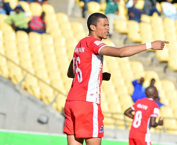 Bevan Fransman of Maritzburg United during the Absa Premiership match between Platinum Stars and Maritzburg United at the Royal Bafokeng Stadium in Rustenburg on 20 August 2017 ©Aubrey Kgakatsi/BackpagePix