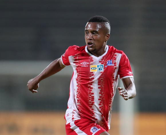 Sheldon Van Wyk of Maritzburg United during MTN8 Semifinal match between Supersport United and Maritzburg United at Lucas Moripe Stadium, Atteridgeville South Africa on 26 August 2017 ©Muzi Ntombela/BackpagePix