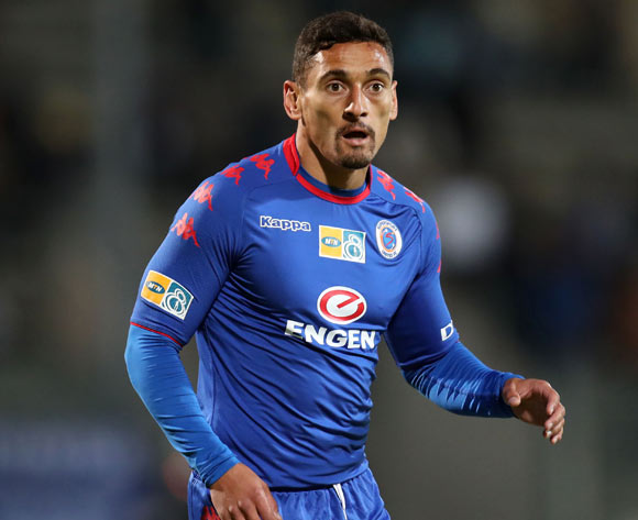 Cole Alexander of Supersport United during MTN8 Semifinal match between Supersport United and Maritzburg United at Lucas Moripe Stadium, Atteridgeville South Africa on 26 August 2017 ©Muzi Ntombela/BackpagePix