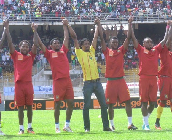 Sao Tome stutter against African champions