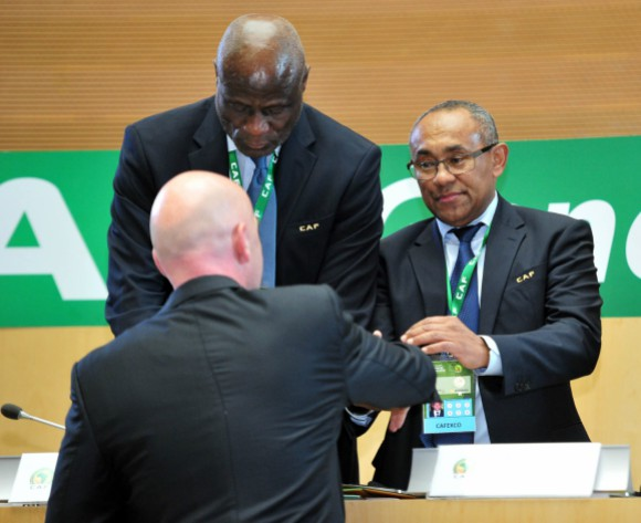 CAF President Ahmad happy with development in Ethiopia