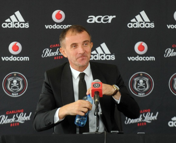 Milutin Sredojevic expects to succeed at Orlando Pirates